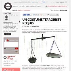 Un costume terroriste requis