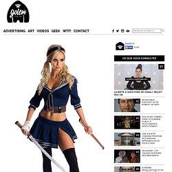 Une série de costumes Sexy Geek spéciale filles