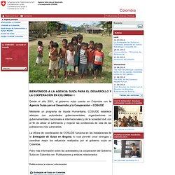 COSUDE Colombia - Página principal