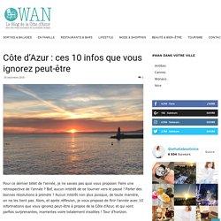 Côte d'Azur : ces 10 infos que vous ignorez peut-être - What about Nice ?