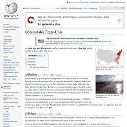 Côte est des États-Unis