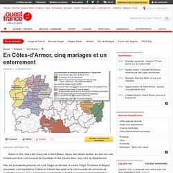 En Côtes-d'Armor, cinq mariages et un enterrement - Saint-Brieuc - Politique