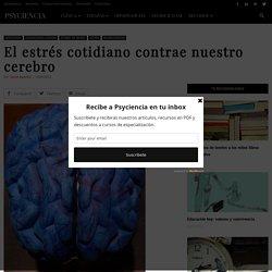 El estrés cotidiano contrae nuestro cerebro