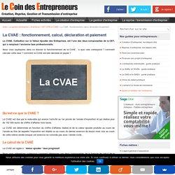 La CVAE (Cotisation sur la Valeur Ajoutée des Entreprises)