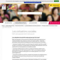 Les cotisations sociales - associations.gouv.fr
