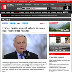 France: hausse des cotisations sociales pour financer les ...
