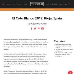 El Coto Blanco 2019, Rioja, Spain