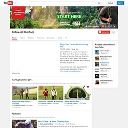 CotswoldOutdoor's Channel