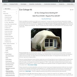 Eco Cottage Kit - Aidomes.com - Domes from American Ingenuity, Inc.