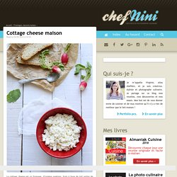 Cottage cheese maison