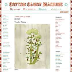 Cotton Candy Machine | NEWS | Tender Times by Scott C