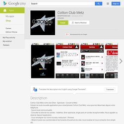 Cotton Club Metz (Android)