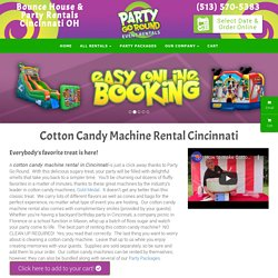 where to rent a cotton candy machine