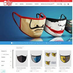 Buy Cotton Masks online at The Souled Store