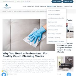 Couch Cleaning Toorak