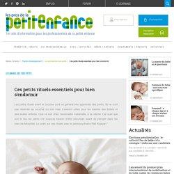 Coucher bébé : les petits rituels essentiels