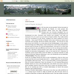 Lala à l'Aquila, le blog 2