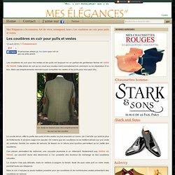 Les coudières en cuir pour pulls et vestes