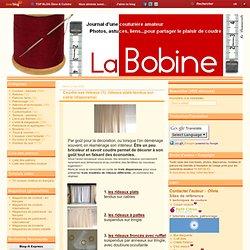 Coudre ses rideaux (1): rideaux plats tendus sur cable (diaporama)