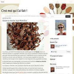 Coulant au chocolat, façon Michel Bras