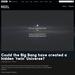 Could the Big Bang have created a hidden 'twin' Universe? - BBC Reel