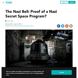 Could This Be Clear Evidence of The Nazi's Secret Space Program?