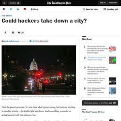 Could hackers take down a city?