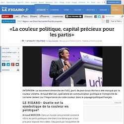 «La couleur politique, capital précieux pour les partis»