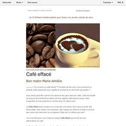 La couleur de la semaine : Café effacé, 3 leçons tirées de mes observations des gens au café