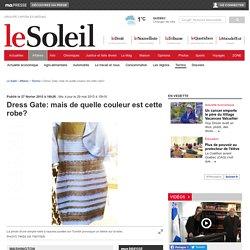 Dress Gate: mais de quelle couleur est cette robe?