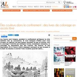 Des couleurs dans le confinement : des livres de coloriage en accès libre