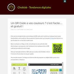 Un QR Code à vos couleurs ? c'est facile... et gratuit !