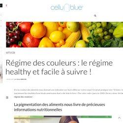 Régime des couleurs : le régime healthy et facile à suivre ! - CelluBlue
