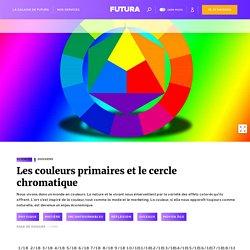 Les couleurs primaires et le cercle chromatique