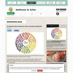 Le régime des couleurs: sain en toute simplicité