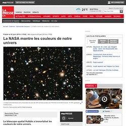 La NASA montre les couleurs de notre univers