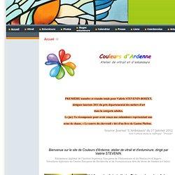Couleursd'Ardenne : Atelier de vitrail et d'enluminure