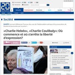 «Charlie Hebdo», «Charlie Coulibaly»: Où commence et où s'arrête la liberté d'expression?