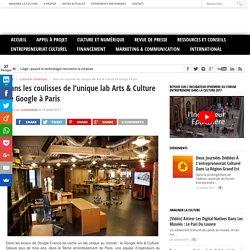 Dans les coulisses de l'unique lab Arts & Culture de Google à Paris - Cultureveille