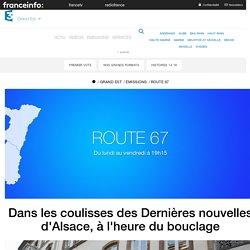 France 3 Grand Est - Dans les coulisses des Dernières nouvelles d'Alsace, à l...