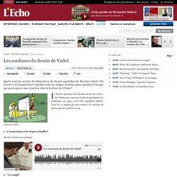 Les coulisses du dessin de Vadot: L'Echo
