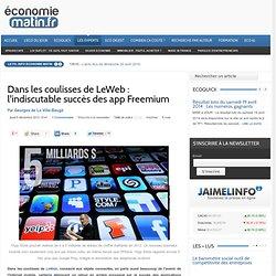 Dans les coulisses de LeWeb : l'indiscutable succès des app Freemium