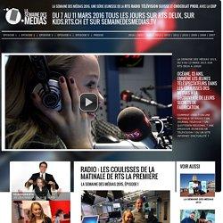Radio : les coulisses de la matinale de RTS La Première
