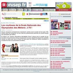 Les coulisses de la finale Nationale des Olympiades des Métiers: J-70 !