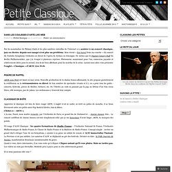 Dans les coulisses d'ARTE Live Web « Petite Classique