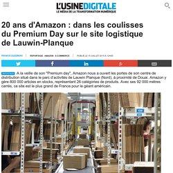 20 ans d'Amazon : dans les coulisses du Premium Day sur le site logistique de Lauwin-Planque