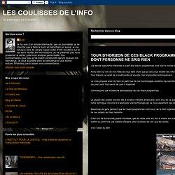 TOUR D'HORIZON DE CES BLACK PROGRAMMES DONT TOUT LE MONDE PARLE ET DONT PERSONNE NE SAIS RIEN