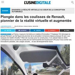 Plongée dans les coulisses de Renault, pionnier de la réalité virtuelle et augmentée