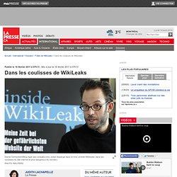 Dans les coulisses de WikiLeaks