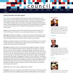 Council Interview with Sally Applin